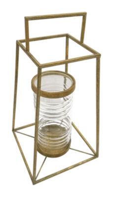 Pyramid Decorative Lantern