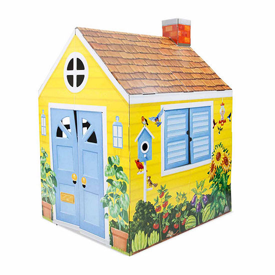 Melissa & Doug Cardboard Structure - Cottage