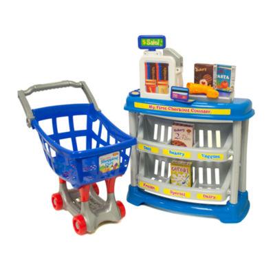 Amloid Corporation - My First Supermarket 13 Piece Set