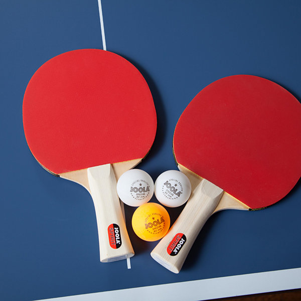 JOOLA Table Tennis Spirit Racket Set (Includes 2 Rackets; 3 Balls; Carrying Case)