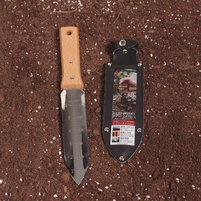 Nisaku Stainless Steel Weeding Knife, 7.25-Inch Blade (650 Weeding Knife - Serrated Blade)