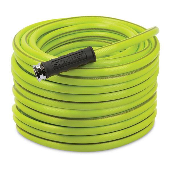 1 garden hose. Sun Joe 100-Foot 1/2-Inch Heavy-Duty Garden Hose 1