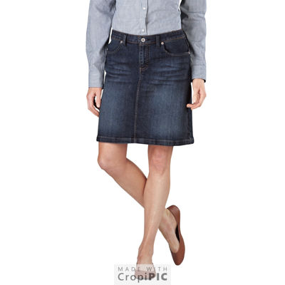 Dickies® Stretch Denim Skirt