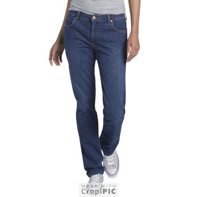 Dickies® Perfect Shape Straight Stretch Denim Jean