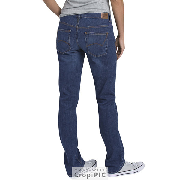 Dickies® Perfect Shape Straight Stretch Denim Jean