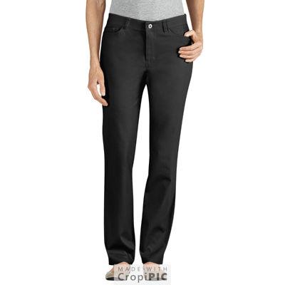 Dickies® Slim Skinny 5-Pocket Stretch Twill Pant