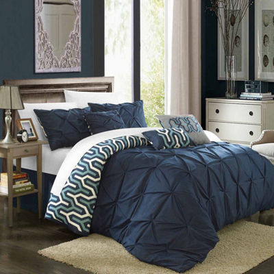 Chic Home Alleta 7-pc. Midweight Embroidered Comforter Set