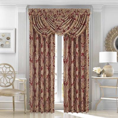 Queen Street Celine Rod-Pocket Curtain Panel
