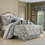 Queen Street Clorinda 4-pc. Damask + Scroll Heavyweight Comforter Set