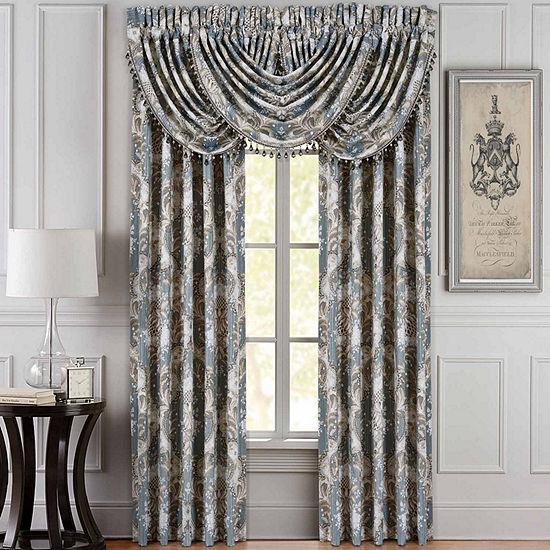 Queen Street Clorinda Rod-Pocket Set of 2 Curtain Panel
