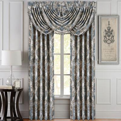 Queen Street Clorinda Rod-Pocket Curtain Panel