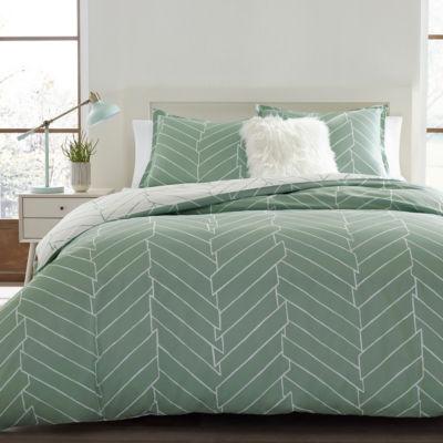 City Scene Ceres Green Comforter Set