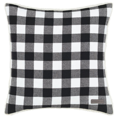 Eddie Bauer Cabin Plaid Square Pillow