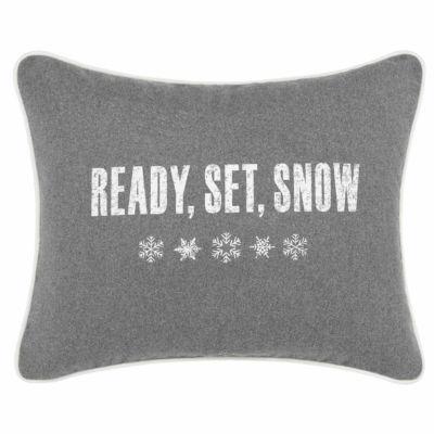 Eddie Bauer Ready Set Snow Breakfast Pillow