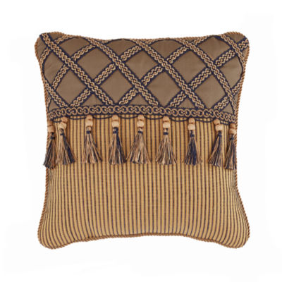 Croscill Classics Cordero 16x16 Square Throw Pillow
