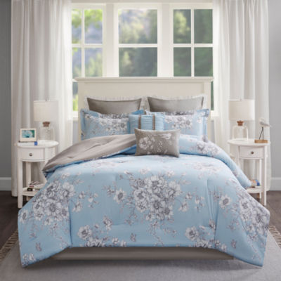 Madison Park Claire Cotton Percale 8-pc. Comforter Set