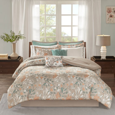 Madison Park Robin Cotton Sateen 10-pc. Comforter Set