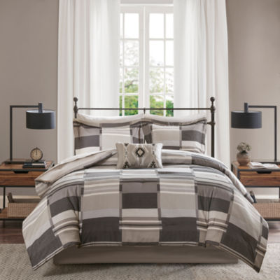 Madison Park Essentials Ontario Complete Comforter and Sheet Set