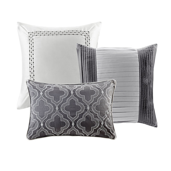 Madison Park Chrystal Embroidered 7-pc. Comforter Set