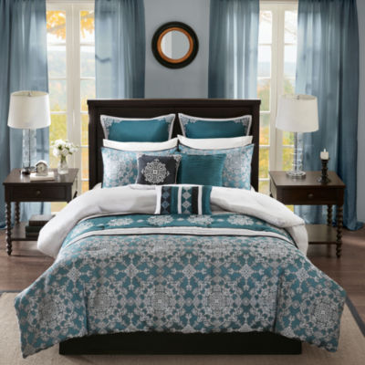 Madison Park Everett Jacquard 9-pc. Comforter Set