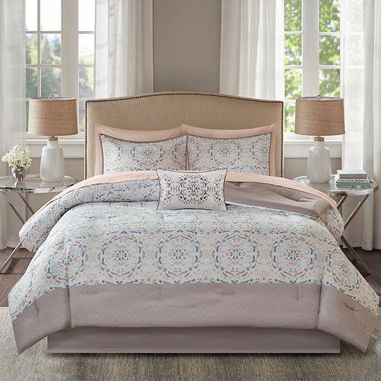 Madison Park Essentials Nima Comforter and Cotton Sheet Set