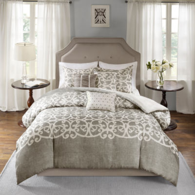 Madison Park Novella 6-pc. Duvet Cover Set