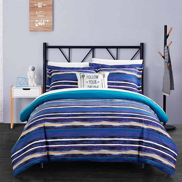 Chic Home Karan 8-pc. Duvet Cover Set