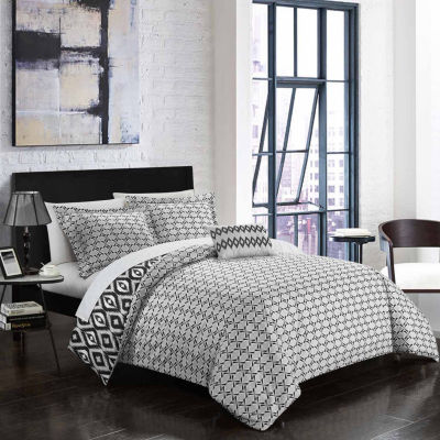 Chic Home Normani 6-pc. Duvet Cover Set