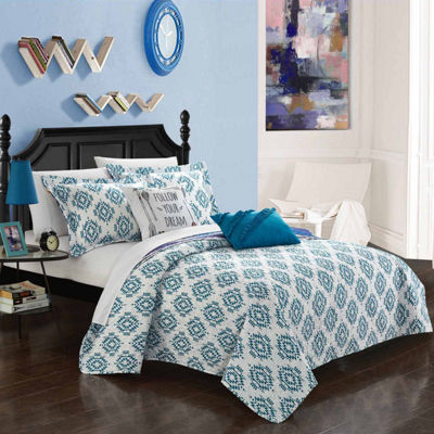 Chic Home Jaden Reversible Quilt Set
