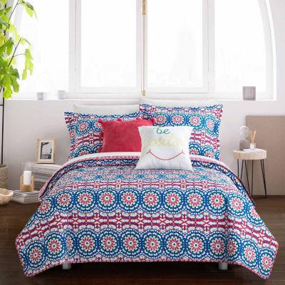 Chic Home Tristan Quilt Set