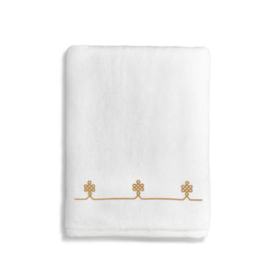 Linum Home Textiles Lattice Bath Towels