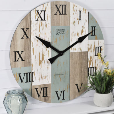 FirsTime Timberworks Clock
