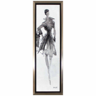 Decor Therapy Fashionable Lady in Stainless SteelFrame