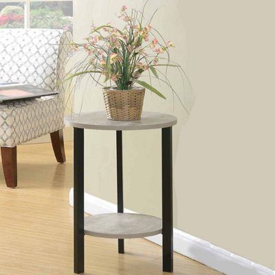 "Convenience Concepts Graystone 24"" Plant Stand"
