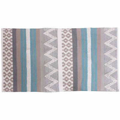 Thro by Marlo Lorenz Jayden Cotton Textured Accent Rug