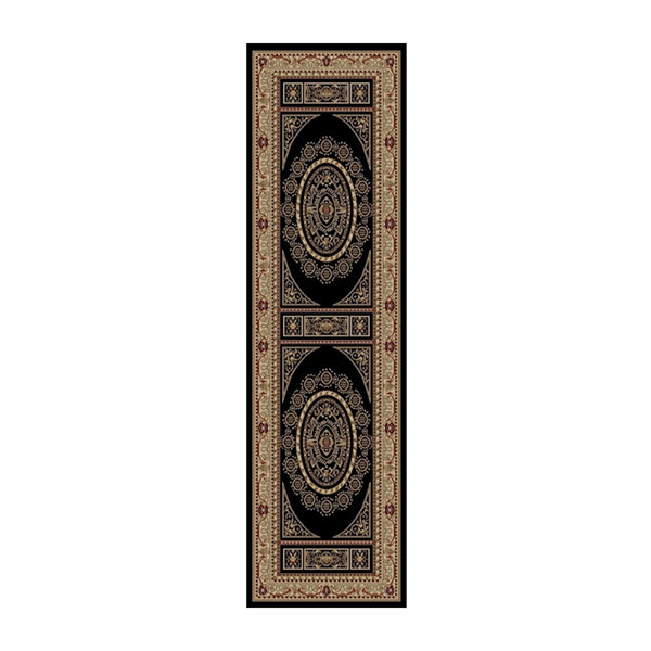Concord Global Trading Jewel Collection Aubusson Area Rug