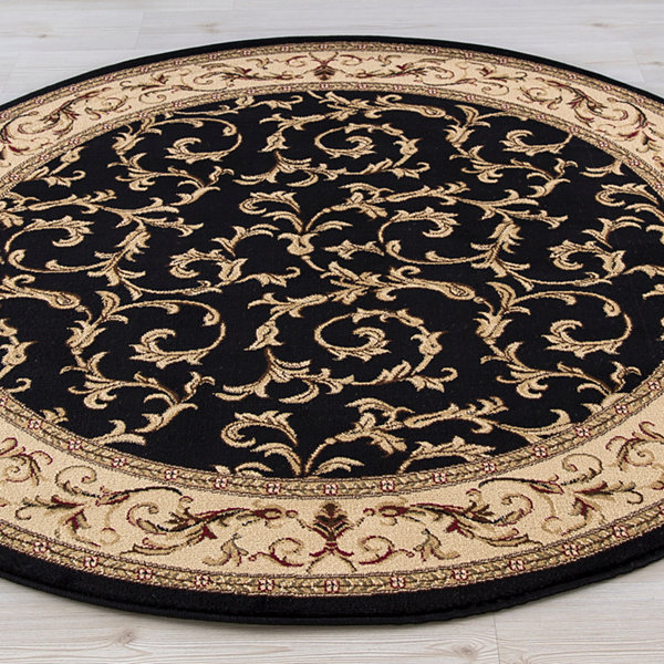Concord Global Trading Jewel Collection Veronica Round Area Rug