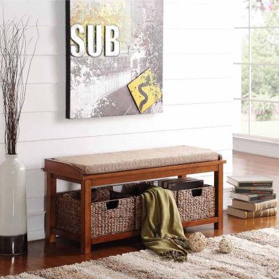 Letha Storage Bench