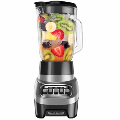 Black+Decker Power Crush Blender Silver