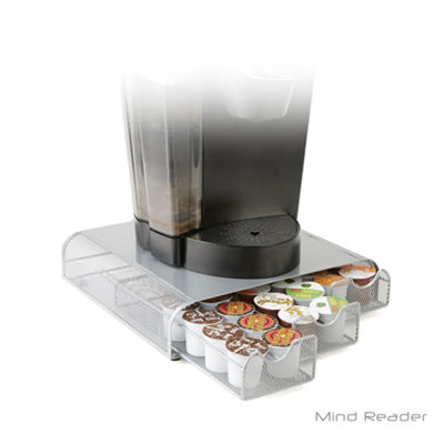 Mind Reader Triple Drawer Mesh K-Cup® Coffee Pod Drawer, Silver