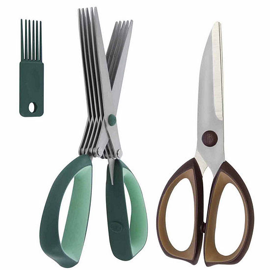 Henckels International 2-Pc. Kitchen & Herb Shears