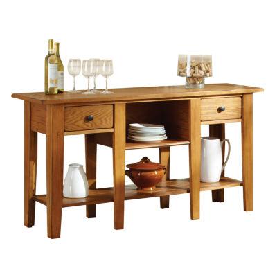 Maisie Sofa Table-Oak
