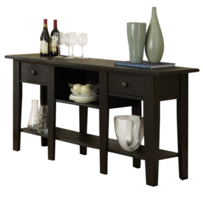 Maisie Sofa Table-Black