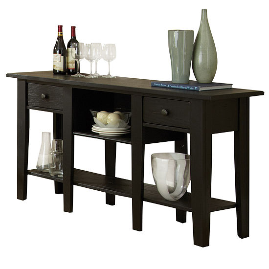 Maisie Sofa Table-Black