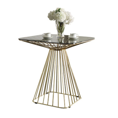 Rianne Glass-Top Dining Table