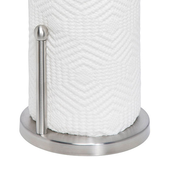 Honey-Can-Do® Satin Finish Stainless Steel Paper Towel Holder
