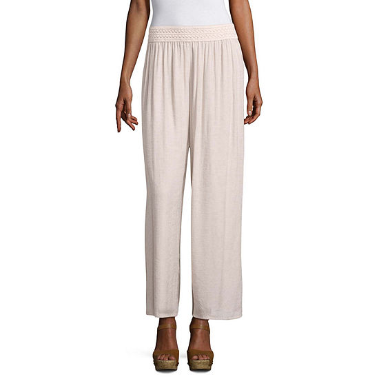 Alyx Womens Wide Leg Pull-On Pants