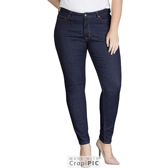Dickies® Perfect Shape Skinny Stretch Denim Jean - Plus