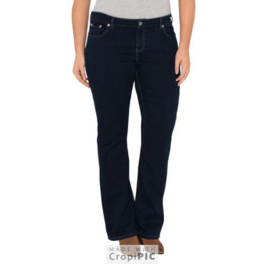 Dickies® Relaxed Boot Cut Stretch Denim Jean - Plus