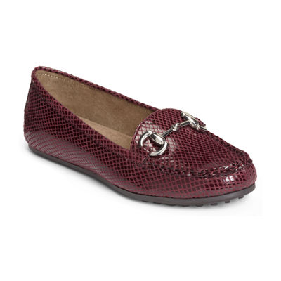 A2 by Aerosoles Womens Drive Back Loafers Slip-on Round Toe
